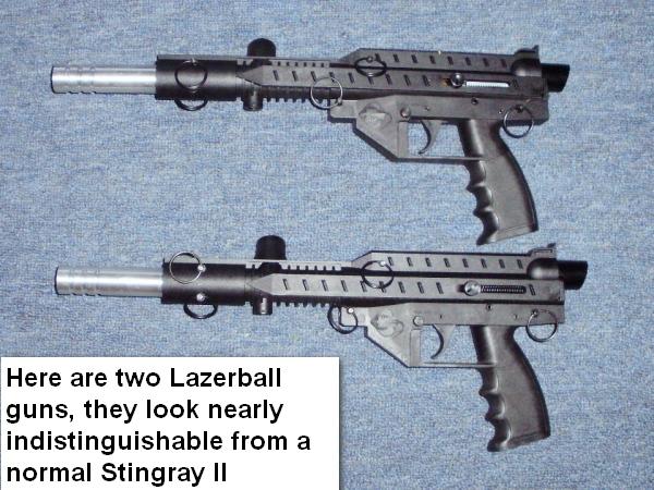 Stingray II Lazerball
